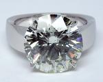 8.90 Carats Round Diamond Solitaire
