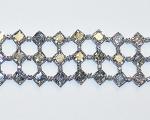 Asscher Cut Diamond Flexible Bracelet