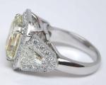 Yellow Radiant Cut   Kite Shape Diamonds