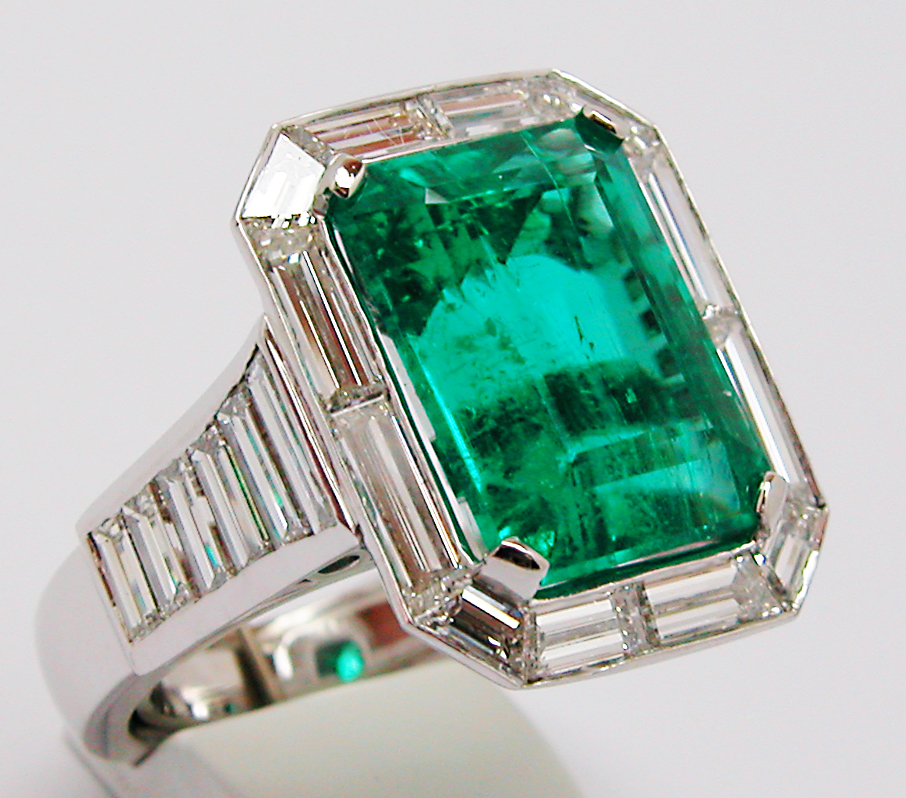 emerald ring vintage