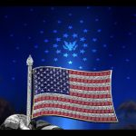 American Flag Pin B