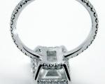 3.00 Carats Em. Cut Diamond Ring