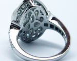 3.00 Carats Round Diamond Engagement Ring
