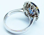 Oval Sapphire KATE Ring